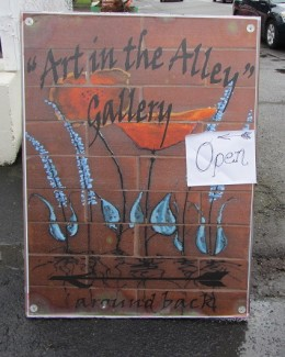 Art in the Alley – Grand Opening