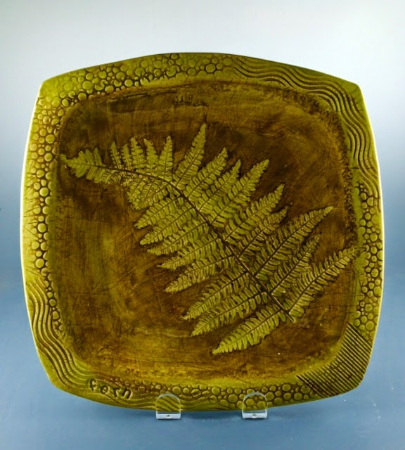 square fern dish